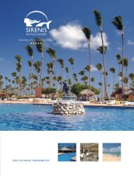 Sirens Punta Cana Fact Sheet