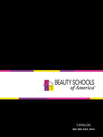 CATALOG - Beauty Schools of America