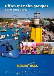 Offres spéciales groupes - saison estivale 2012 - Europa-Park
