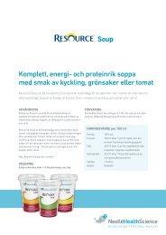 Resource Soup - Nestlé Nutrition