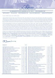 die wein referenz subskription bordeaux 2012 - Alpina Wein