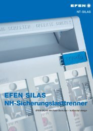 EFEN SILAS NH Fuse-Switches - Hager