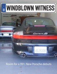 Room for a 991: New Porsche  debuts - Porsche Club of America ...