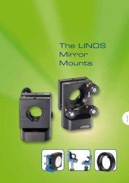 The LINOS Mirror Mounts - Qioptiq Q-Shop
