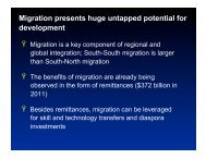 Sonia Plaza, World Bank, Senior Economist, Migration and ...