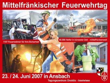 Mittelfränkischer Bezirksfeuerwehrtag
