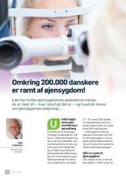 Er De ramt af øjensygdom? - Øjenforeningen Værn om Synet
