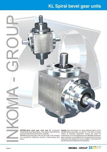 KL Spiral bevel gear units - inkoma-group