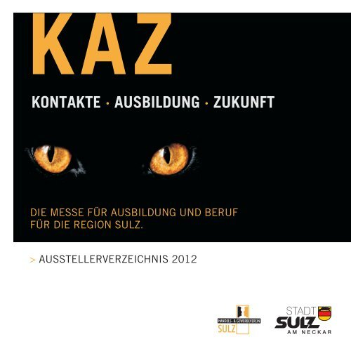 KONTAKTE · AUSBILDUNG ZUKUNFT · - KAZ