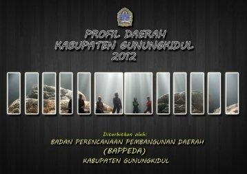 SIPD Kabupaten Gunungkidul Tahun 2012