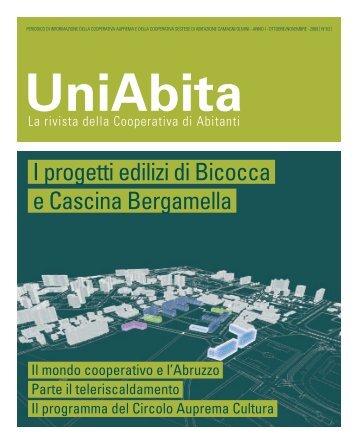 I progetti edilizi di Bicocca e Cascina Bergamella - Uniabita