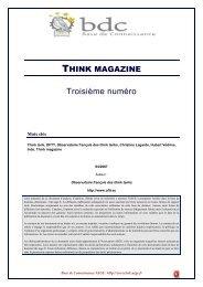 Union Indienne : Think magazine - Base de connaissance AEGE