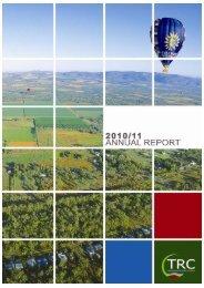 Tablelands Regional Council Annual Report 2010/2011