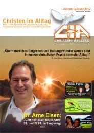 Gemeindebrief 2012-01 02 - Christen im Alltag