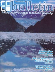 281-4050 (800) 343-5382 FAX - Allegheny County Medical Society