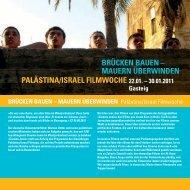 Palästina/Israel Filmwoche - Filmstadt München
