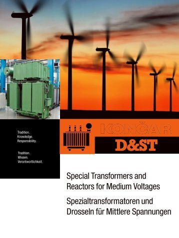 Special Transformers and Reactors for  Medium Voltages ...