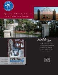 Spec Sheet - Gates N Fences
