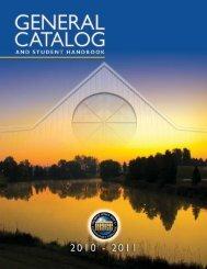 2010-2011 pdf - North Iowa Area Community College