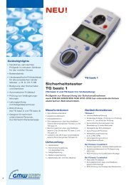 Sicherheitstester TG basic 1