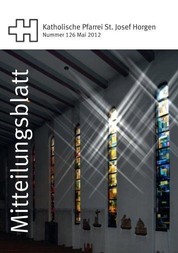Mitteilungsblatt - Katholische Kirche Horgen