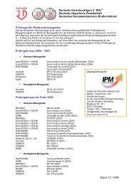 Deutsche Hochdruckliga e.V. DHL® Deutsche Hypertonie ...