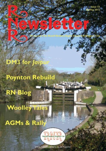 Issue 73, Spring 2012 - Russell Newbery Register
