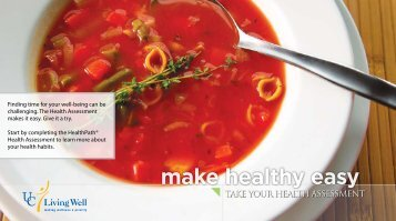 make healthy easy - Wellness