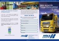 Mehr als nur ein Transportunternehmen