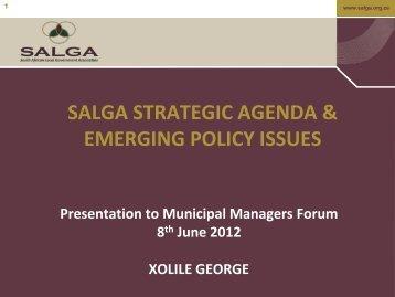 Strategic Plan 2012-17 - MM Forum - 8 June 2012 - v2.pdf - SALGA