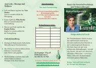 Flyer 12 09 Paderborn.cdr - Naturheilpraxis Farah