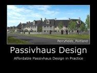 Passivhaus Design - The Building Centre