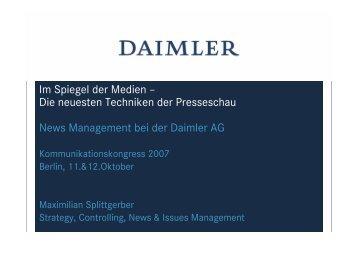 Maximilian Splittgerber - Kommunikationskongress