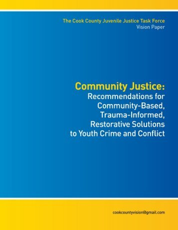 Community Justice - Adler School of Professional Psychology
