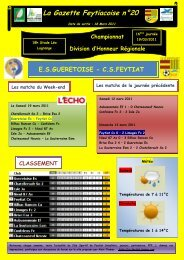 La Gazette Feytiacoise n°20