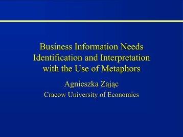 Organizational Metaphores - cssi-morava.cz
