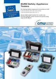 EURO Safety Appliance Testers