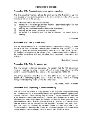 Microsoft Word - propositions-final.doc - Bectu