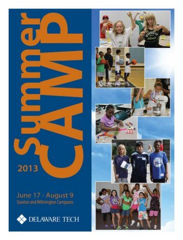 2013 Summer Camp - Delaware Technical Community College