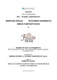 MARTINA STELLA RICCARDO SCAMARCIO ENNIO - Mediaset.it