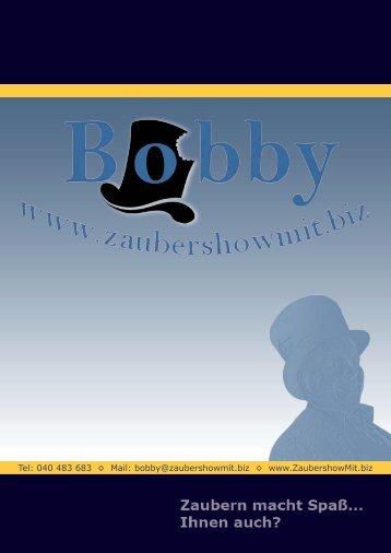 herunterladen - Zauberer Bobby