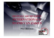 INTERNATIONALE STAND VAN ZAKEN - eDAVID