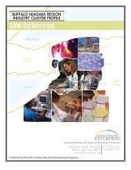 Life Sciences Cluster Profile - Buffalo Niagara Enterprise