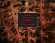 Status of Deep Sea Corals in US Waters - Marine Conservation ...