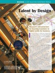 Talent by Design - July 2009.pdf - Missouri Partnership