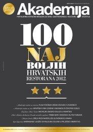 Akademija 360 / 2012 - 360 Restaurant Dubrovnik