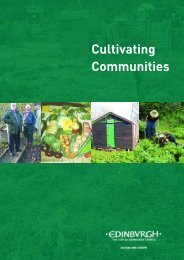 Cultivating Communities - Scottish Allotments and Gardens Society