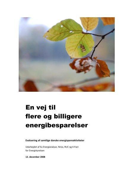 En vej til flere og billigere energibesparelser