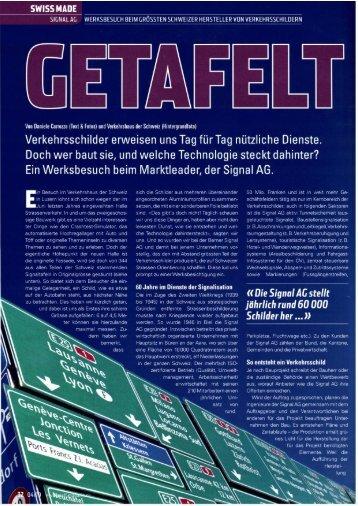 GETAFELT - Signal AG