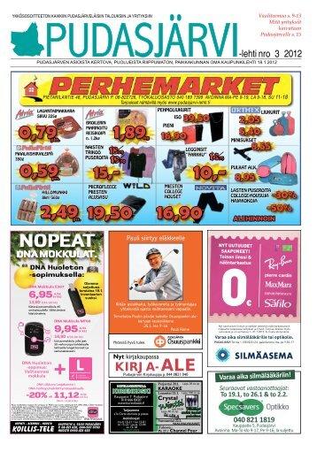 Pudasjarvilehti-3-20.. - Pudasjärvi-lehti ja VKK-Media Oy